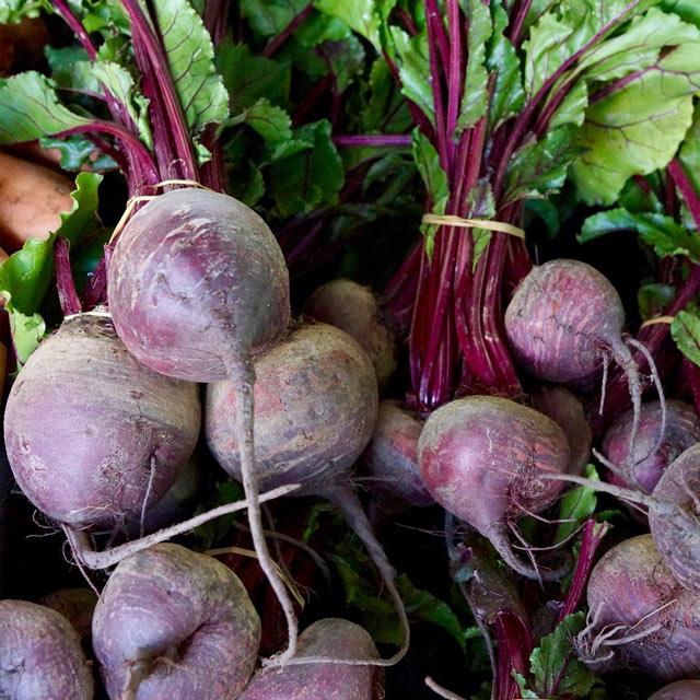 Organic Produce: Beets